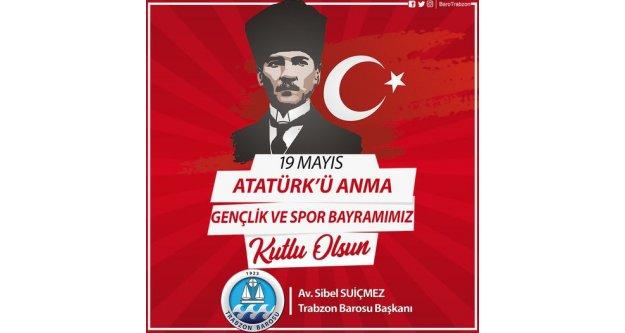19 Mayıs Atatürk'ü Anma, Gençlik ve Spor Bayramını kutluyoruz