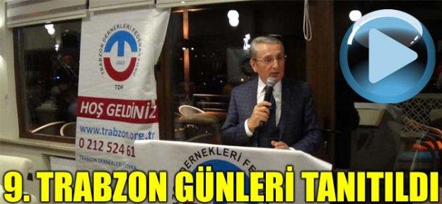 9. Trabzon Günleri Tanıtıldı