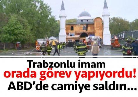 ABD'de Araklı'lı imamın görev yaptığı camiye saldırı!