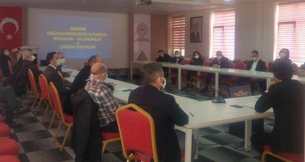 Acil Sağlık Hizmetleri Koordinasyon Komisyonu Toplantısı yapıldı.