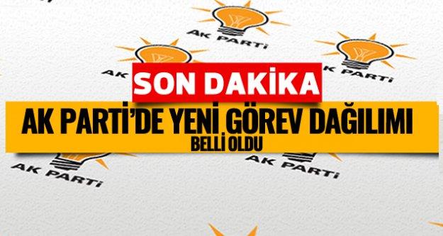 AK Parti'de kritik isimler belli oldu
