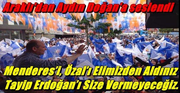 AK Parti Genel Başkan Yardımcısı Soylu Araklı'da