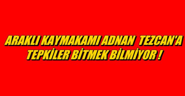 AKP İLÇE BAŞKANLIĞINA ADAY BİR KAYMAKAM!