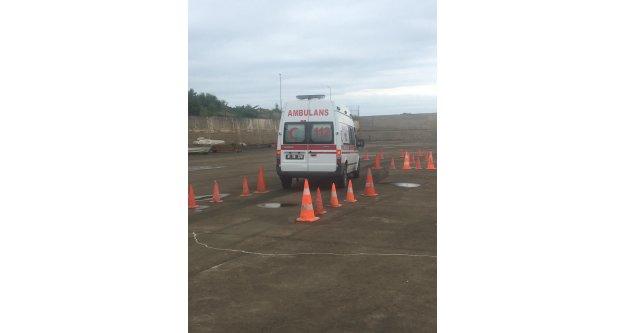Ambulans Sürüş Teknikleri Eğitimi gerçekleştirildi