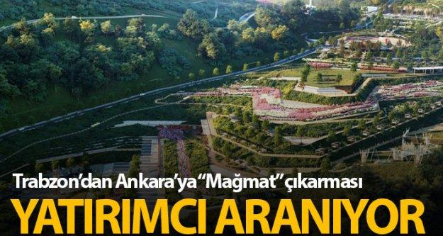 Ankara'ya 'Mağmat Projesi' çıkarması!