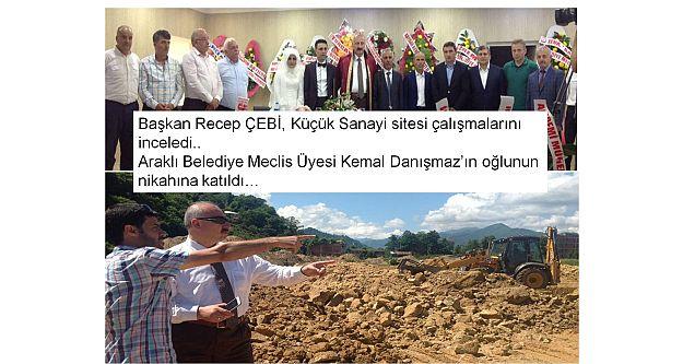 Araklı Belediye Meclis Üyesi Kemal Danışmazın mutlu günü...