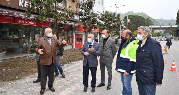 """Araklı Belediye'si 'Sokak Sağlıklaştırma"""" projesine başladı"""
