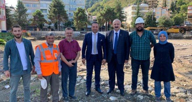 Araklı#039;da Yeni Hükümet Konağı ve Belediye Hizmet Binasının Yapımına Başlandı...
