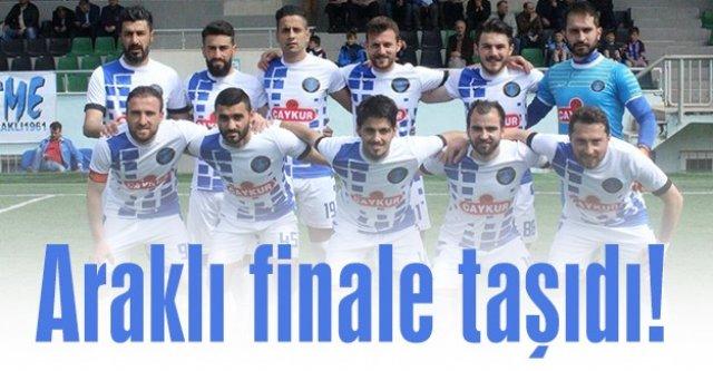 Araklı Karaderespor maçı kazanırsa 3. Lig#039;de...
