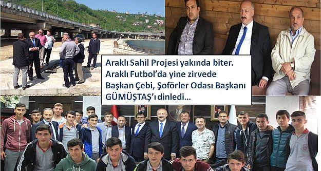 Araklı Sahil Projesi yakında biter...