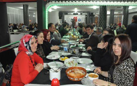 Araklı Türk eğitim sen  yemekli toplantı yaptı