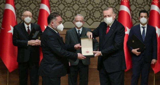 Araklımızın evladı, Mehmet Çebi ödüle layık görüldü.