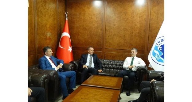 Arsin OSB'den Yomra Belediye Başkanı'na Hayırlı olsun Ziyareti
