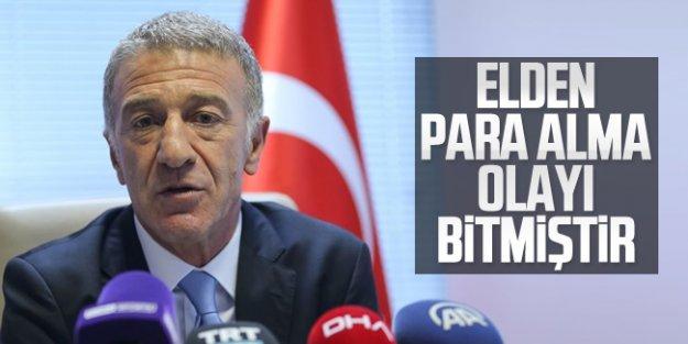 Başkan Ahmet Ağaoğlu basın toplantısı düzenledi