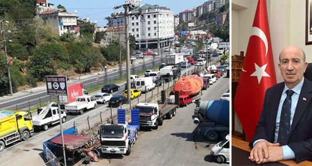 Başkan Bekar, kamyoncu ve nakliyecilerin taleplerini dile getirdi