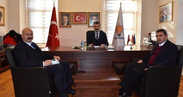 Başkan Recep Çebi, Dr. Sezgin Mumcu'yu ziyaret etti.