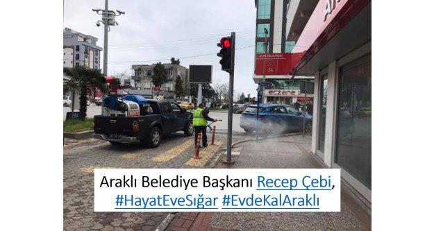 Başkan Recep Çebi, #HayatEveSığar #EvdeKalAraklı