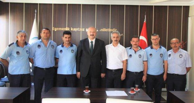 Başkan Recep Çebi, Zabıta Teşkilatımızın Zabıta Haftasını kutluyorum…