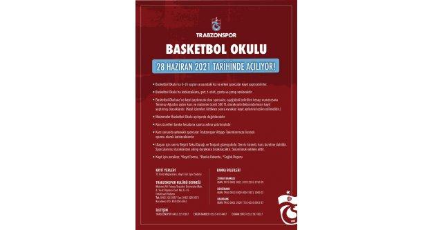 Basketbol okulu faaliyetleri 28 Haziran'da başlıyor