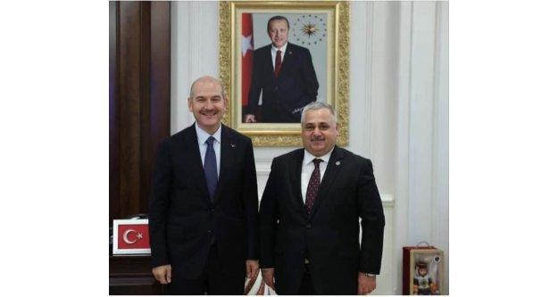 Bekir Aktürk tekrar Türkiye Muhtarlar Konfederasyonu başkanı oldu
