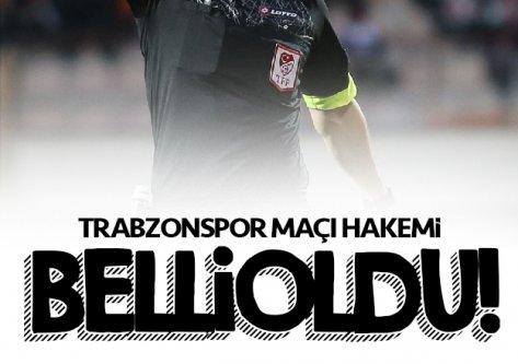 Bordo-Mavili ekibin Denizlispor ile oynayacağı maçın hakemi açıklandı...