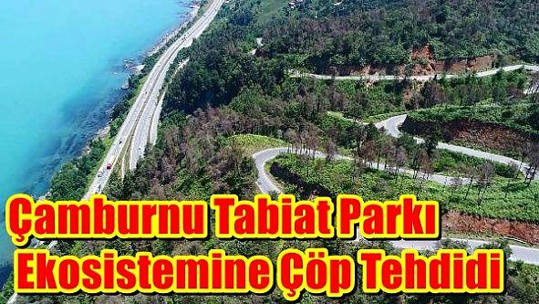 Çamburnu Tabiat Parkı Ekosistemine Çöp Tehdidi