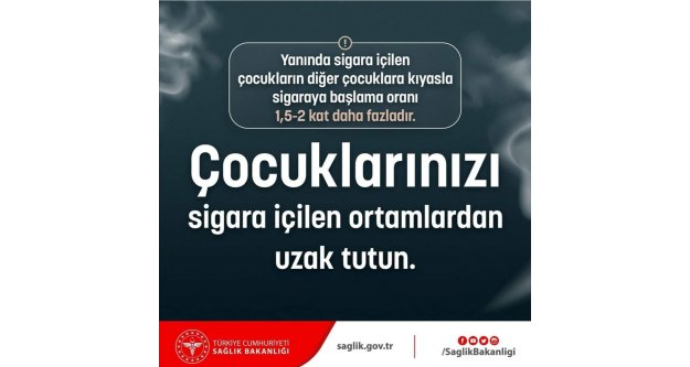 Çocuklarınızı sigara içilen ortamlardan uzak tutun