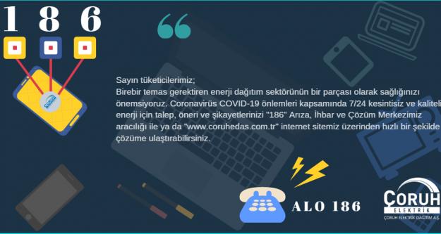 ÇORUH EDAŞ CORONAVİRÜSÜNE KARŞI YOL HARİTASINI HAZIRLADI...