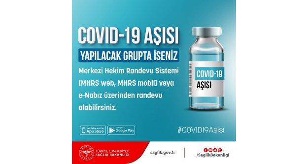 COVID-19 aşısı yapılacak grupta iseniz