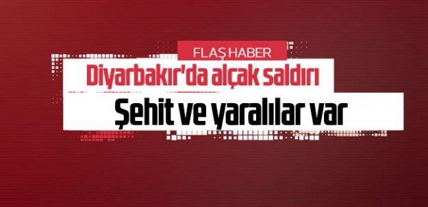 Diyarbakır#039;da hain saldırı!