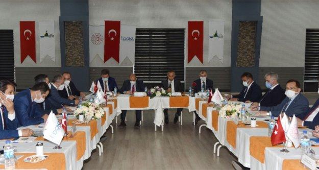DOKA 141'inci Yönetim Kurulu toplantısı Artvin'de yapıldı