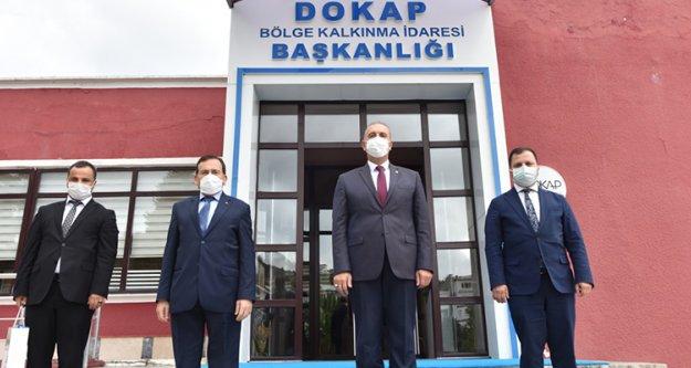 DOKAP ile projeler masaya yatırıldı.