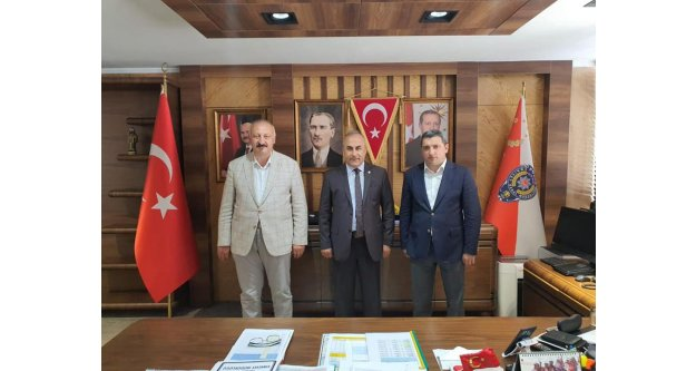 Emniyet Müdürü Kenan Aydoğan'a ziyaret
