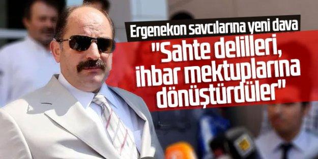 Ergenekon savcılarına yeni dava: ''Sahte delilleri, ihbar mektuplarına dönüştürdüler'