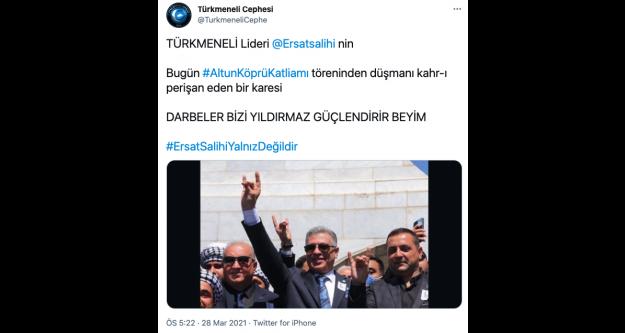 Erşat Salihi'nin istifası Türk dünyasında tartışma yarattı.