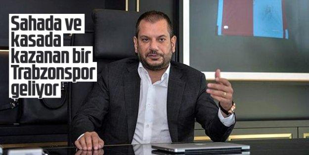 Ertuğrul Doğan: Ürettiğiyle sahada ve kasada kazanan bir Trabzonspor olacak