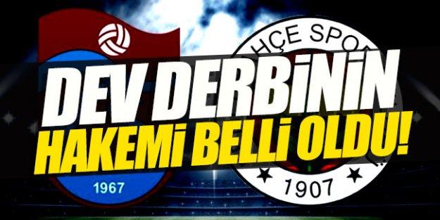 Fenerbahçe - Trabzonspor maçının hakemi belli oldu!