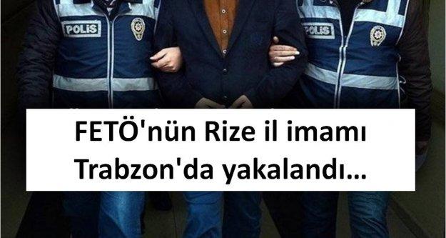 FETÖ'nün Rize il imamı Trabzon'da yakalandı...