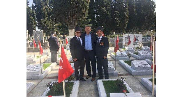 Gökhan GEDİKLİ Gazileri unutmadı