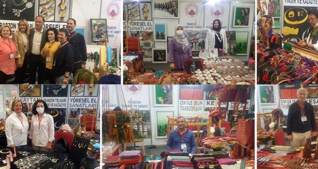 İstanbul#039;da Trabzon#039;un el sanatları ve coğrafi işaretli ürünleri tanıtıldı