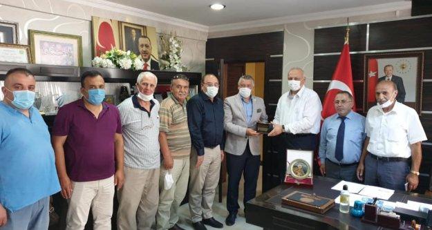 İyi Parti Trabzon Milletvekili Hüseyin Örs, Araklı Belediyesi'ni ziyaret etti.
