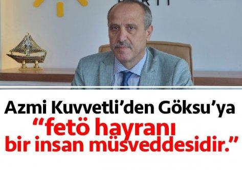 İYİ Parti Trabzon teşkilatından Göksu'ya tepki!