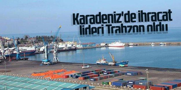 Karadeniz'de ihracat lideri Trabzon oldu...