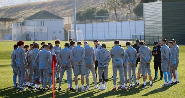 Kasımpaşa maçı hazırlıklarımız başladı