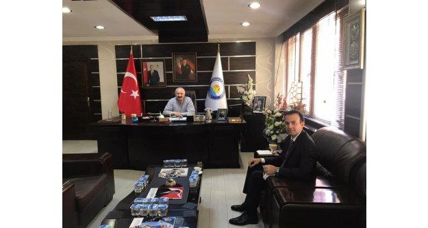 Kaymakam Karaca'dan Başkan Çebi'ye ziyaret...