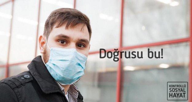 Maskenizden tam yararlanın hastalığın önünü kesin.