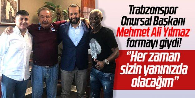 Mehmet Ali Yılmaz, formayı giydi