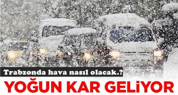 Meteoroloji yoğun kar yağışı uyarısı