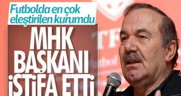 MHK Başkanı Namoğlu istifa etti!