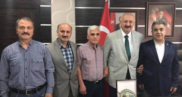 MHP Araklı İlçe Başkanından Başkan Çebi'ye Ziyaret